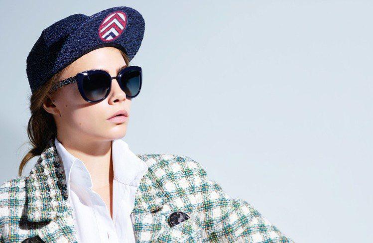 香奈兒2016春夏系列眼鏡。圖/Chanel提供