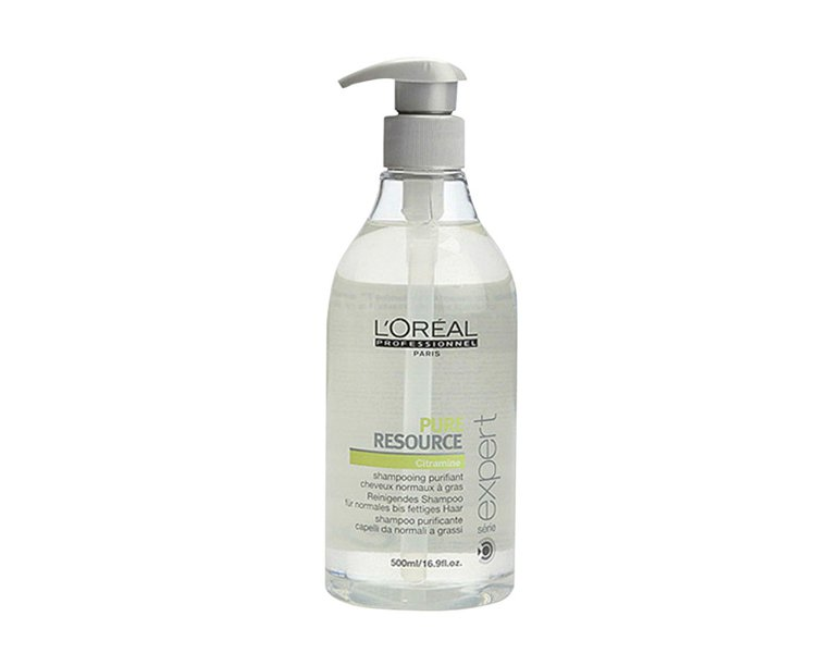 L'OREAL絲漾博控油洗髮精。500ml/1,200元。圖/L'OREAL提供