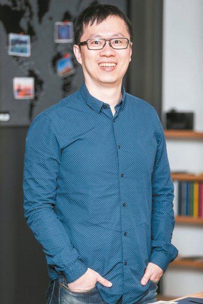 唷吼設計執行創意總監黃建偉 記者程宜華/攝影