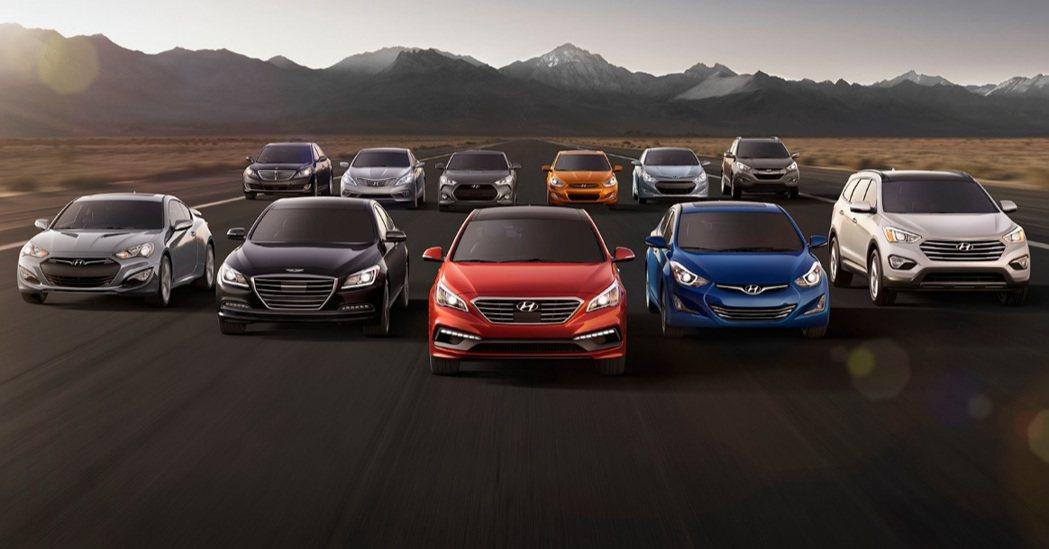 Hyundai汽車在國內名氣不斷上揚,加上品牌旗下車款皆有著時髦流線的外型,吸引...