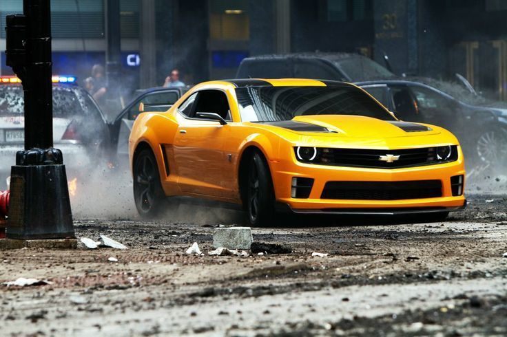 大黃蜂Chevrolet Camaro也是因為電影變得更為經典。 摘自Param...
