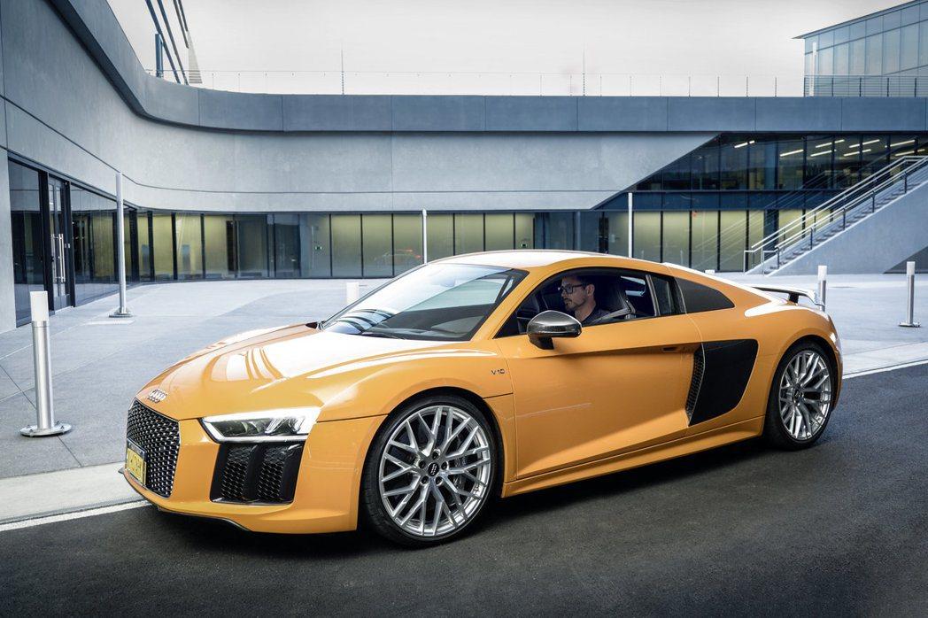 Audi R8因為鋼鐵人的關係,討論度更高。 圖/台灣奧迪提供