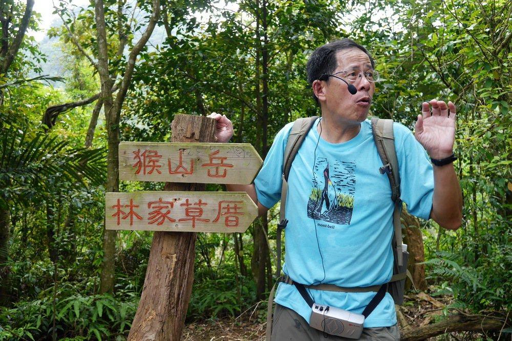 生態作家劉克襄規劃全台7條文化生態路線。 記者陳威任/攝影