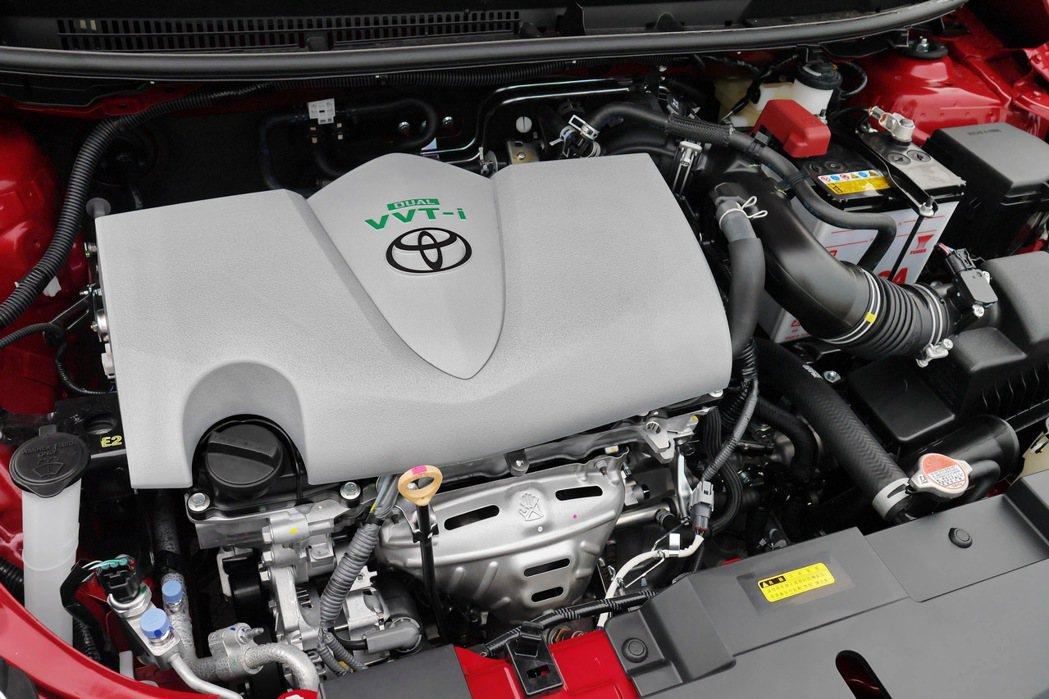 全新Dual VVT-i引擎。 記者陳威任/攝影