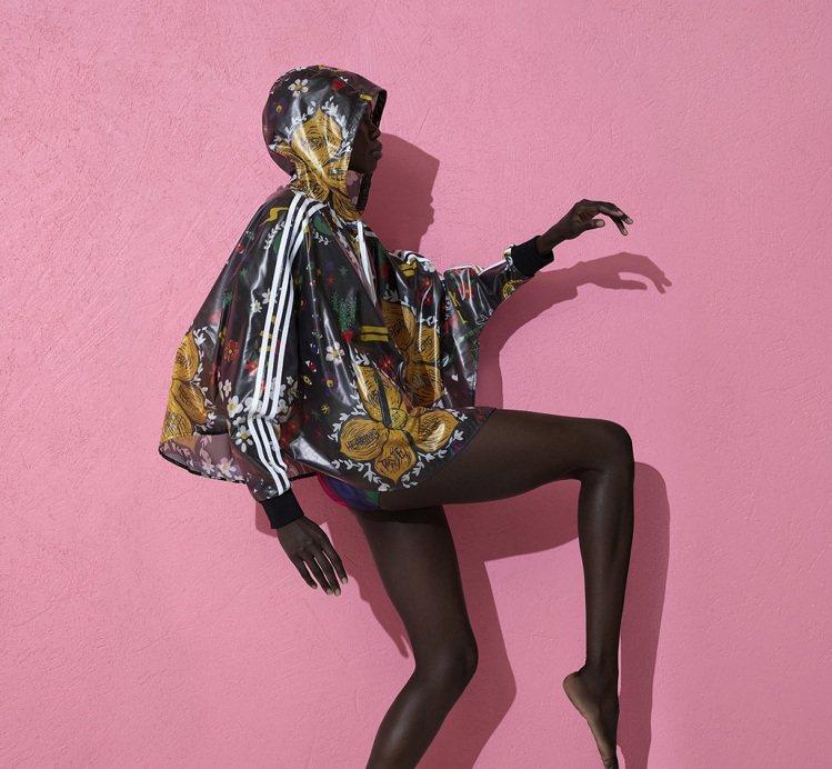 adidas Originals與菲董合作的聯名新裝「粉紅沙灘」系列。圖/adi...