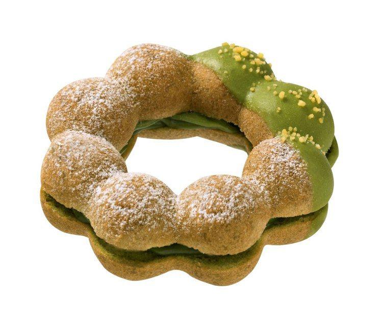 抹茶卡式達波堤,45元。Mister Donut/提供