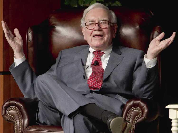 「股神」巴菲特躋身全球百大富豪。(網路照片)