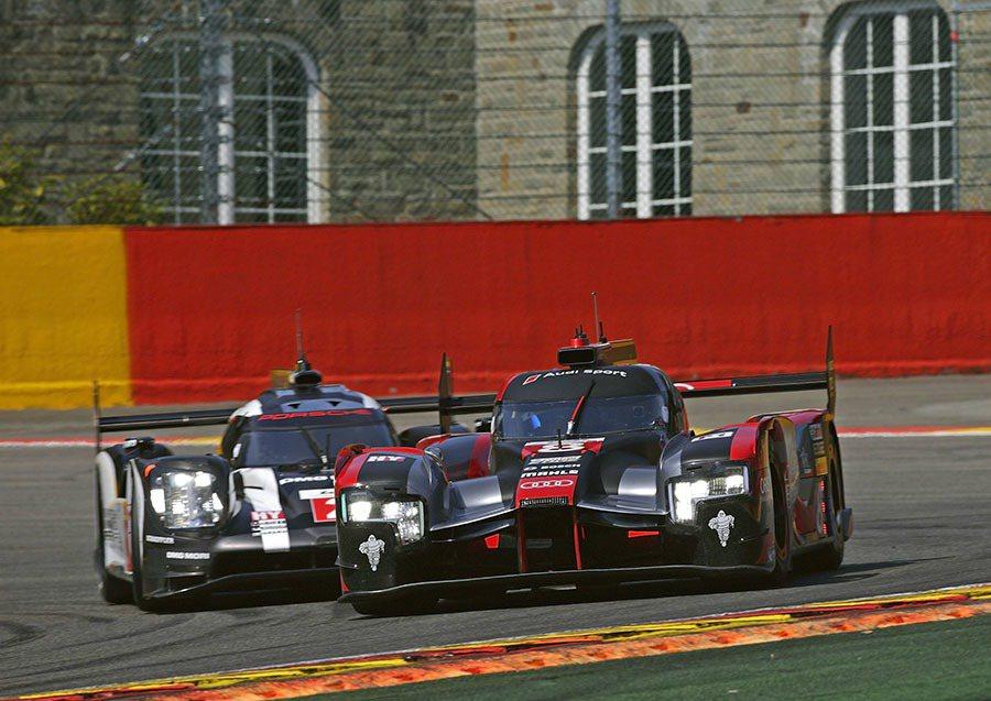 Audi Sport Team Joest廠隊以全新Audi R18 e-tro...