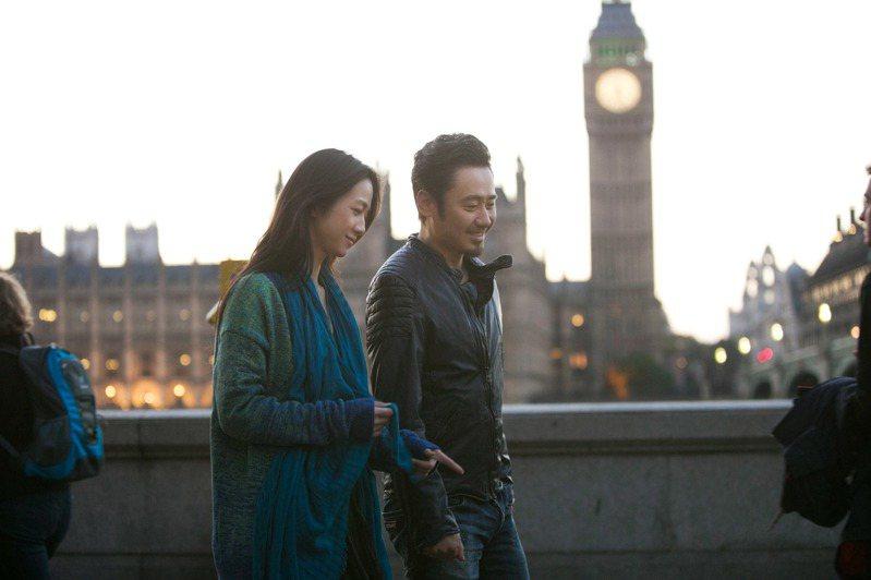 「北京遇上西雅圖之不二情書」湯唯(左)和吳秀波的對話,句句觸及觀眾的心。圖/華映提供