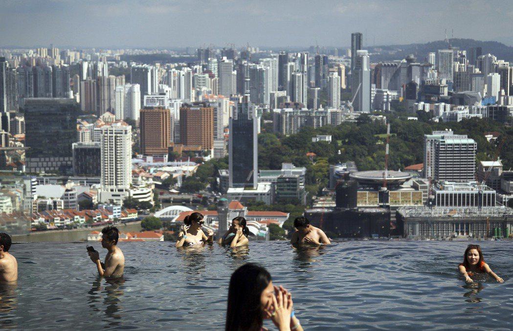 新加坡的兩類人生:你是市井小民/國際公民? 圖/美聯社