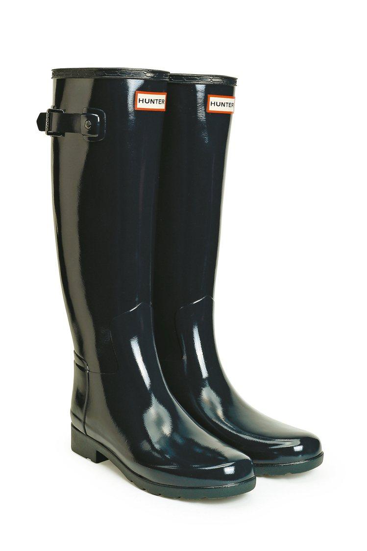 實穿又好看的Hunter雨靴,成為時尚人新寵。 圖/業者提供