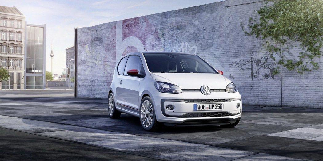 先前Volkswagen也曾推出UP Beats special edition...