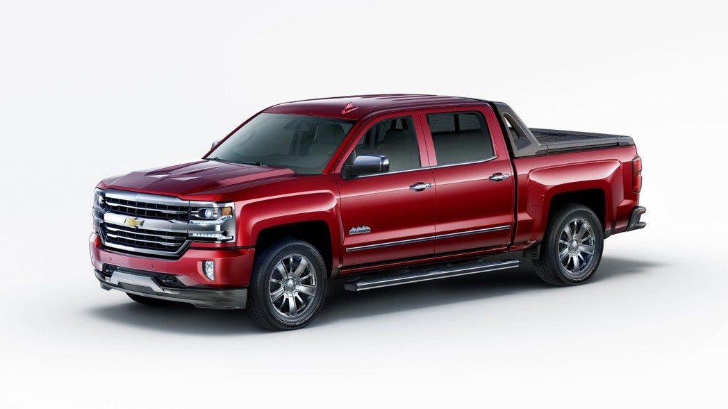 Chevrolet為旗下Pick-up皮卡車型Silverado,推出一套名為H...
