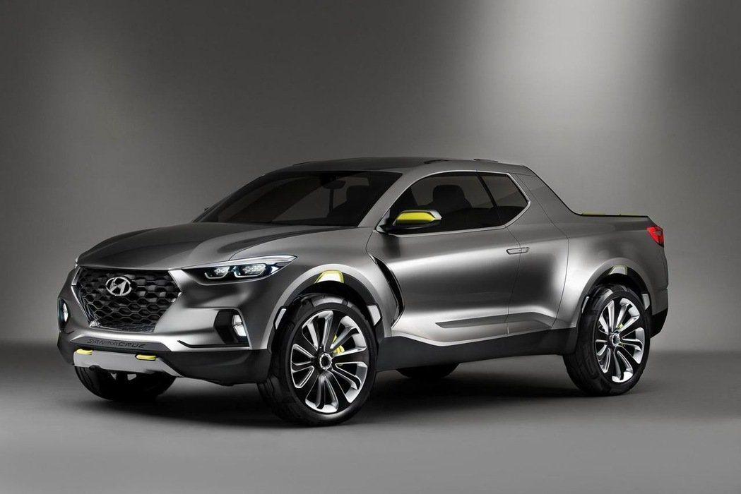 Hyundai也預計研發跨界皮卡車,以更小的車身尺碼,展現都會使用的便利性。 摘...