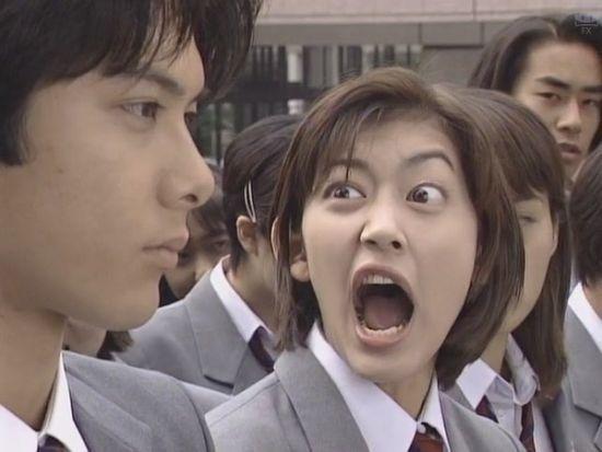 由柏原崇和佐藤藍子主演的「惡作劇之吻」是元老級也是最經典的版本。圖/摘自朝日電視