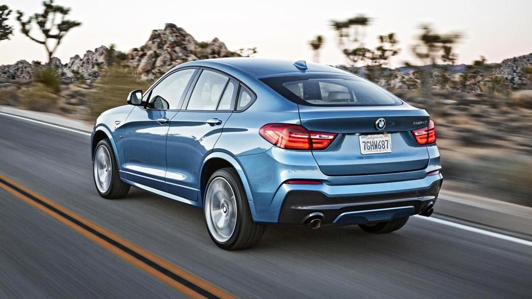 BMW X4 M40i駕馭起來實在很難想像這是一部休旅車款。 圖/BMW提供