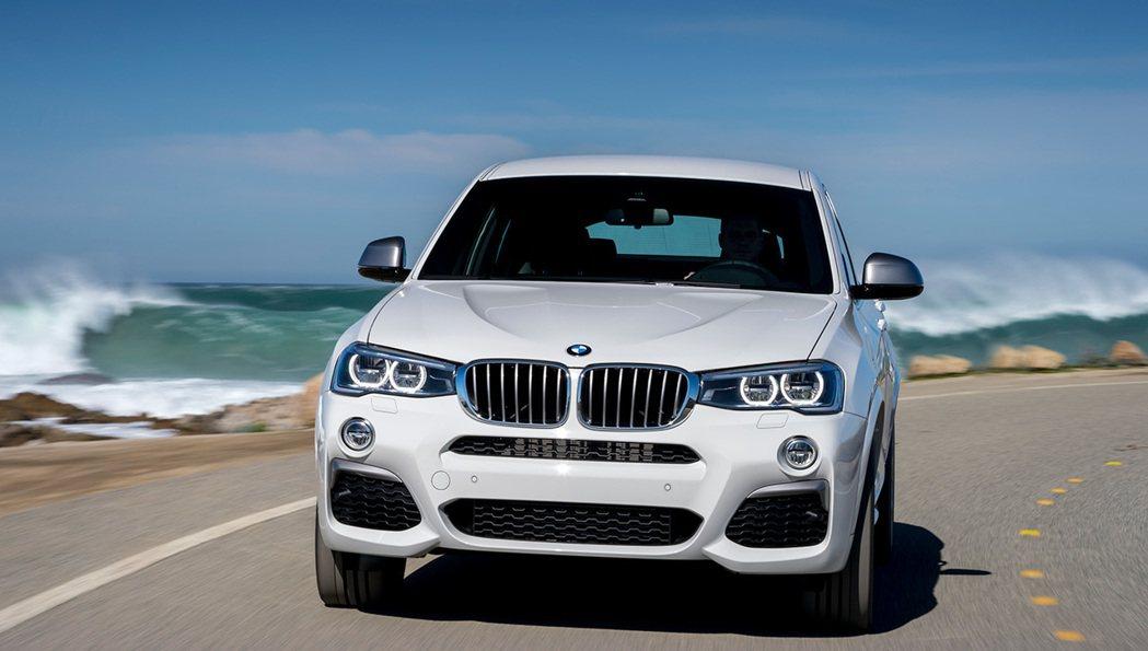 BMW X4 M40i。 圖/BMW提供