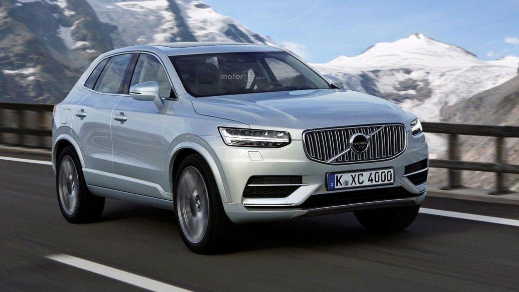 上個月,國外知名汽車網站也公布一張全新Volvo XC40的預想圖。 摘自Mot...