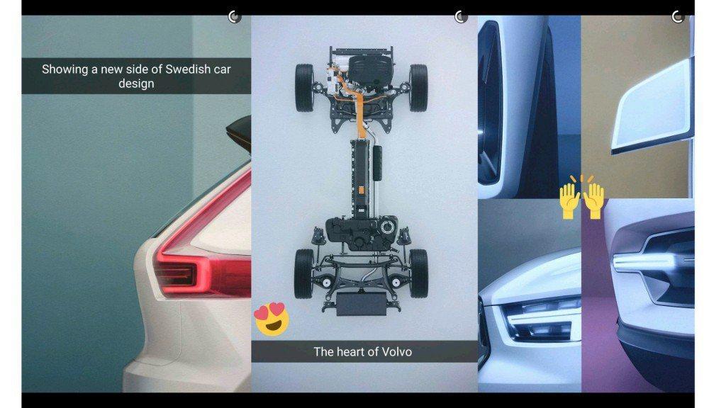 上星期,Volvo終於公布了全新車款的局部照片。 摘自Volvo