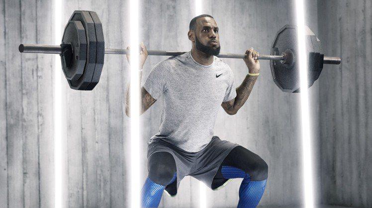 NIKE在詹姆士大帝等NBA球星的加持下,風靡全球,成為最有價值的時尚品牌。圖/...