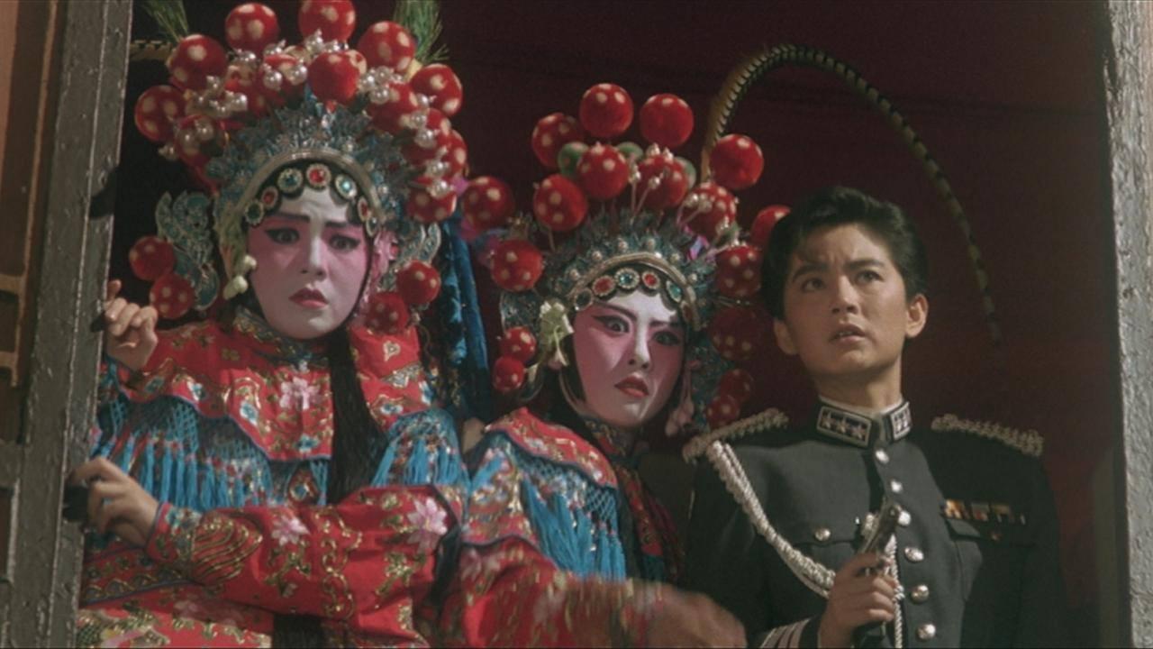 3大女星在「刀馬旦」都有特別的扮相。 圖/摘自mubi
