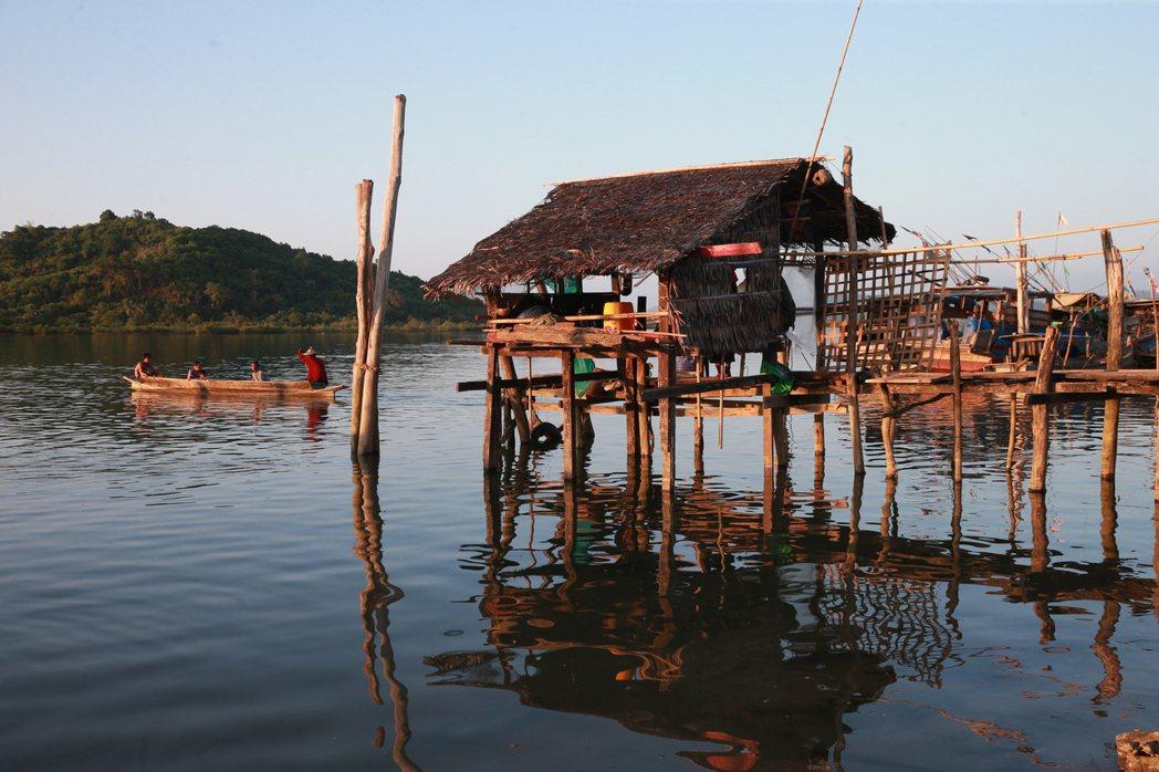 緬甸古亞漁村。 記者黃義書/攝影