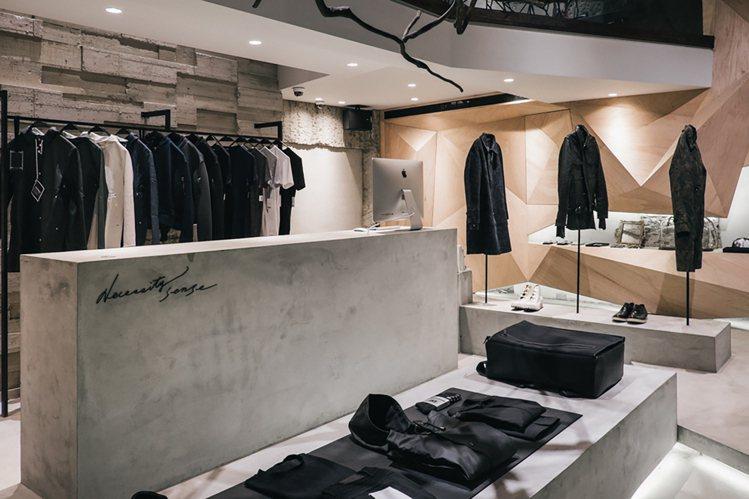 Ne.Sense的店裝相當有特色,因此同時獲得德國紅點及 iF Design室內...