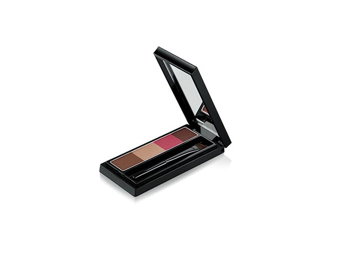Visee 調色眉彩盤,全 3 色/容量 3g /建議售價各 NT0 元。...