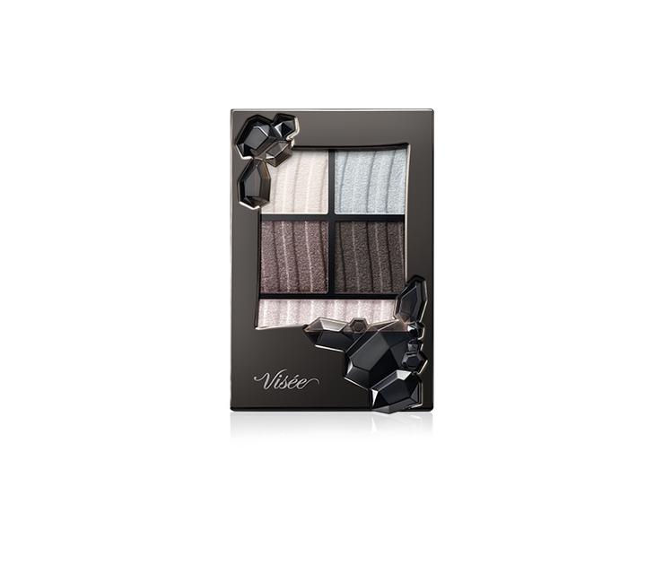 Visee 深邃晶耀眼影盒,全 8 色/容量 5.4g /建議售價各 NT$37...