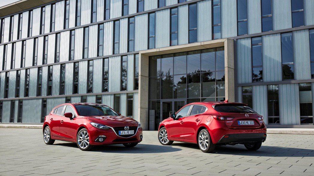 Mazda 3在國內的銷量不斷提升,成為眾多車廠的頭號競爭對手。 摘自Mazda