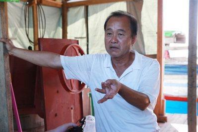 緬甸台商吳智仁。 記者黃義書/攝影