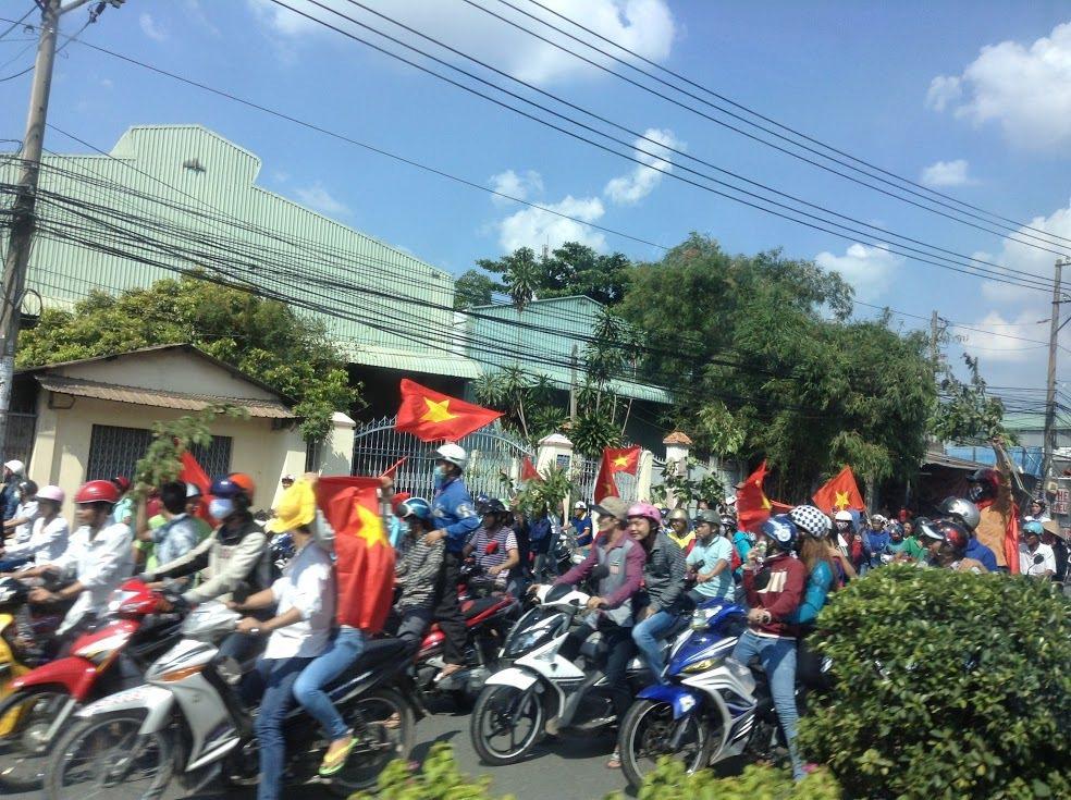 越南513暴動。 圖/黃資傑提供