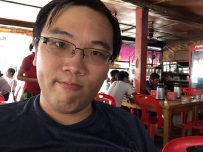 黃資傑在泰國。 圖/取自黃資傑臉書