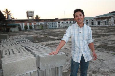 緬甸台商空心磚廠總經理林恆有。 記者黃義書/攝影