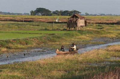 緬甸許多地區仍保留原始淳樸樣貌。 記者黃義書/攝影