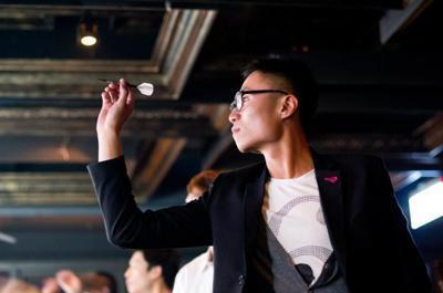 嚴子昀在台灣時,經常外出玩樂。 圖/取自嚴子昀臉書