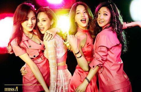 韓國女團miss A所屬經紀公司JYP娛樂,20日宣布中國大陸籍成員Jia孟佳因為與公司合約期滿不續約,所以將會退出miss A。JYP娛樂也表示,另一為中國大陸籍成員Fei已與公司續約,所以公司仍...