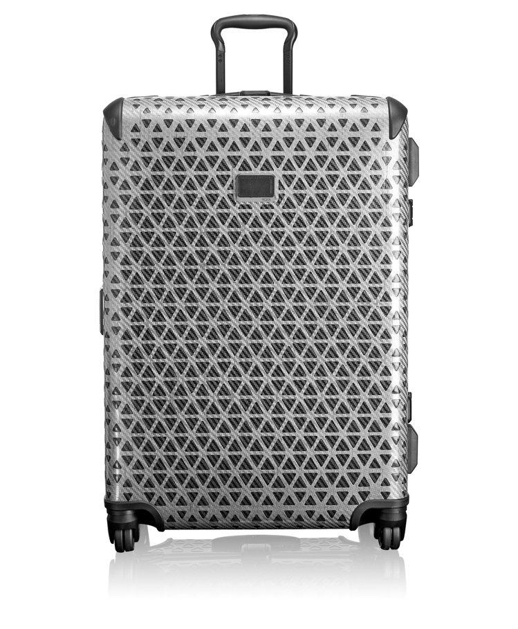 Tumi X-Frame27吋銀灰色旅行箱,52,100元。圖/Tumi提供