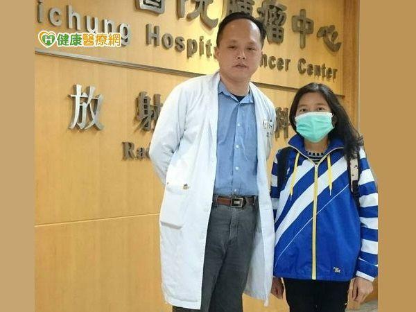 衛福部台中醫院血液腫瘤科陳駿逸醫師,以口服低劑量化療讓癌女獲新生!