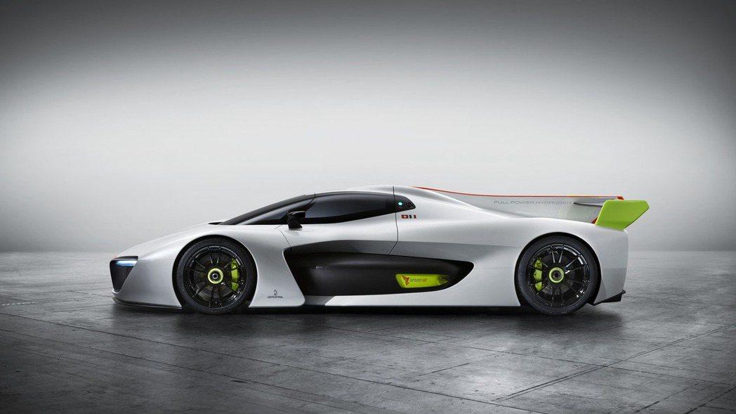 今年日內瓦車展上,Pininfarina曾展示一款H2 Speed Concep...