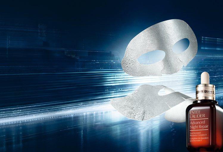 雅詩蘭黛特潤雙層超導修護面膜,4片3,000元。圖/雅詩蘭黛提供