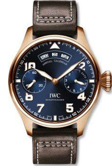 大型飛行員年曆「小王子」特別版腕表,自動上鍊機芯,46mm 18K紅金表殼,限量...