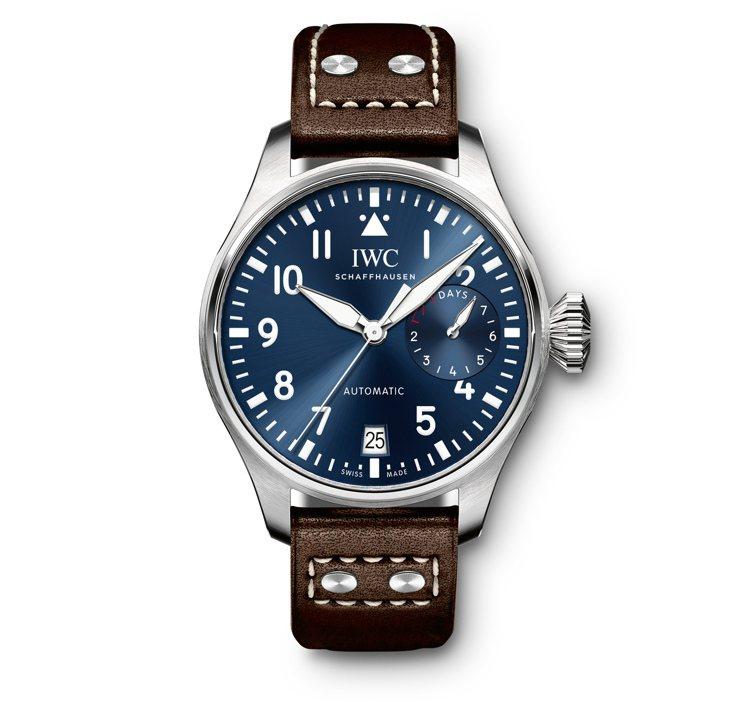 大型飛行員「小王子」特別版腕表,自動上鍊機芯, 46 mm精鋼表殼,44萬9,0...
