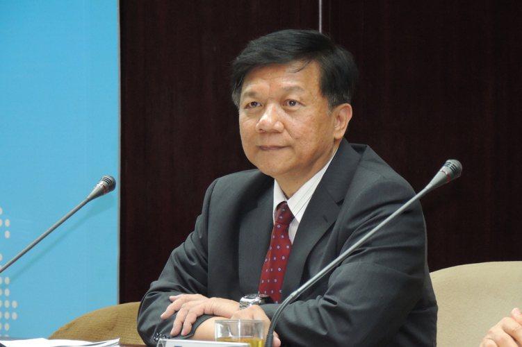 經濟部長李世光表示,貨貿沒有時間表。記者張為竣/攝影