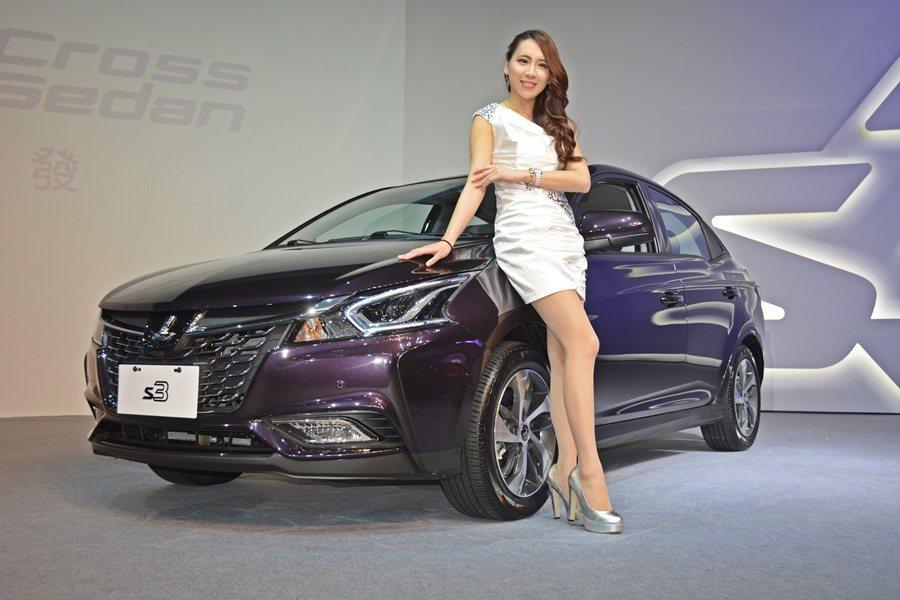 納智捷發表新跨界房車LUXGEN S3,6月也創下不錯買氣。 記者趙惠群/攝影