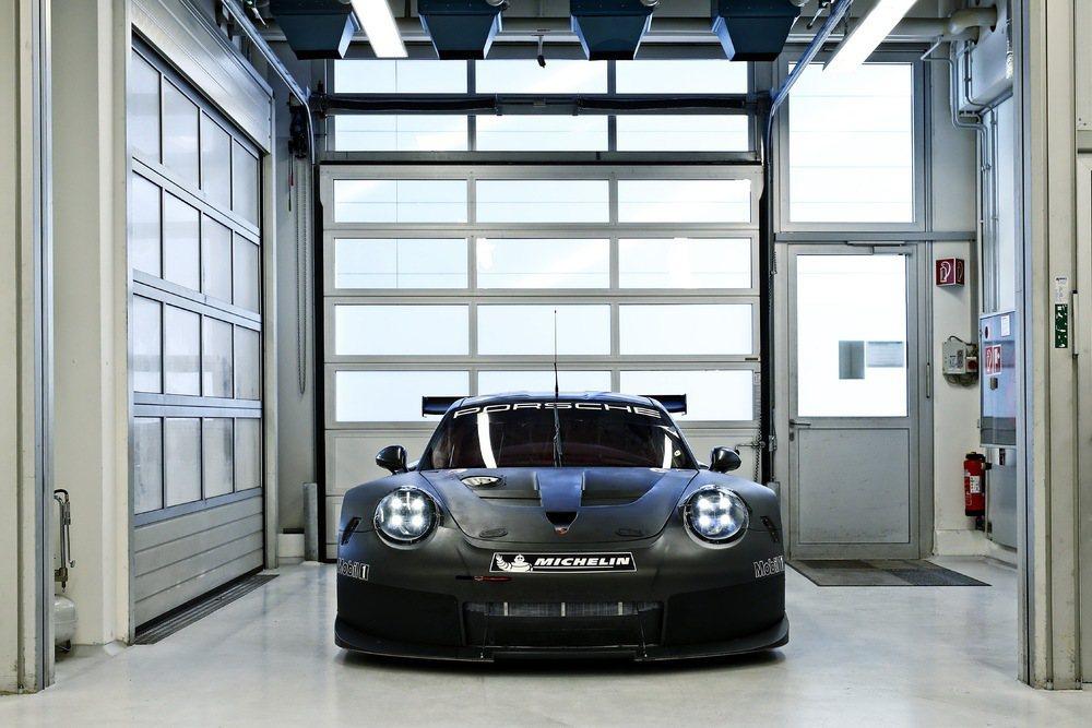 保時捷從2017年起採用全新的GTE/GTLM級距賽車。 圖/Porsche提供
