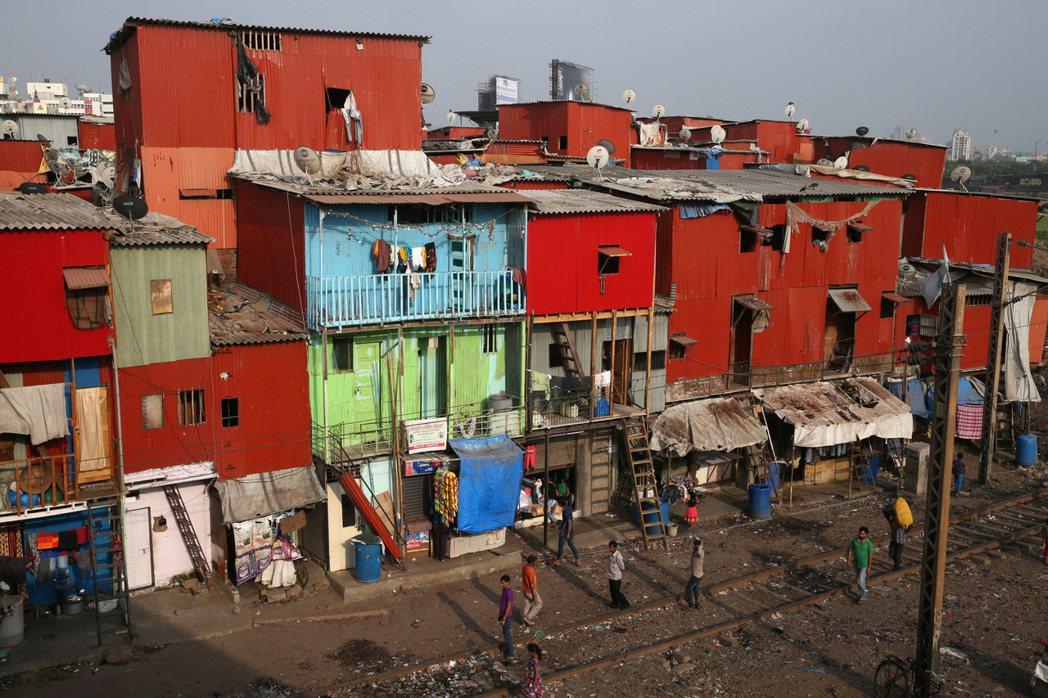 孟買一般住宅。 記者潘俊宏/攝影