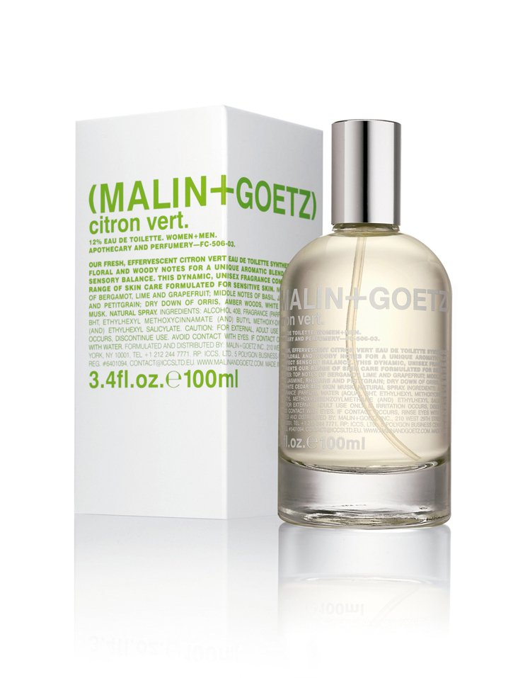 MALIN+GOETZ青檸淡香水,100ml/5,900元。 圖/業者提供