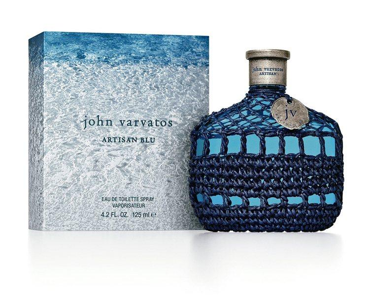 John Varvatos 工匠Blu男性淡香水,125ml/3,500元。 圖...
