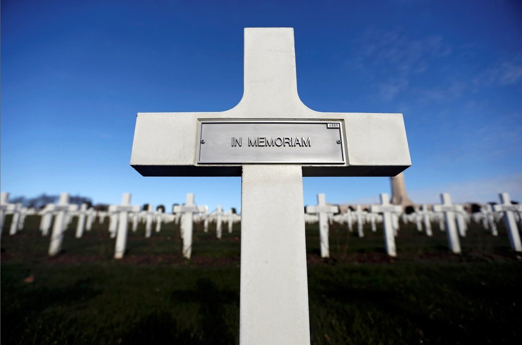 凡爾登戰役陣亡將士所安葬的杜奧蒙公墓。在為期10個月的凡爾登戰役中,法軍陣亡超過...